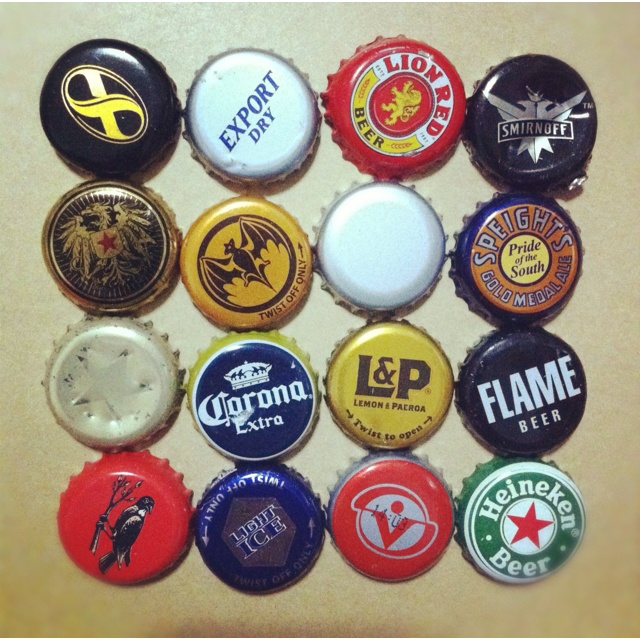 The lids collection of mine once drinking in a while