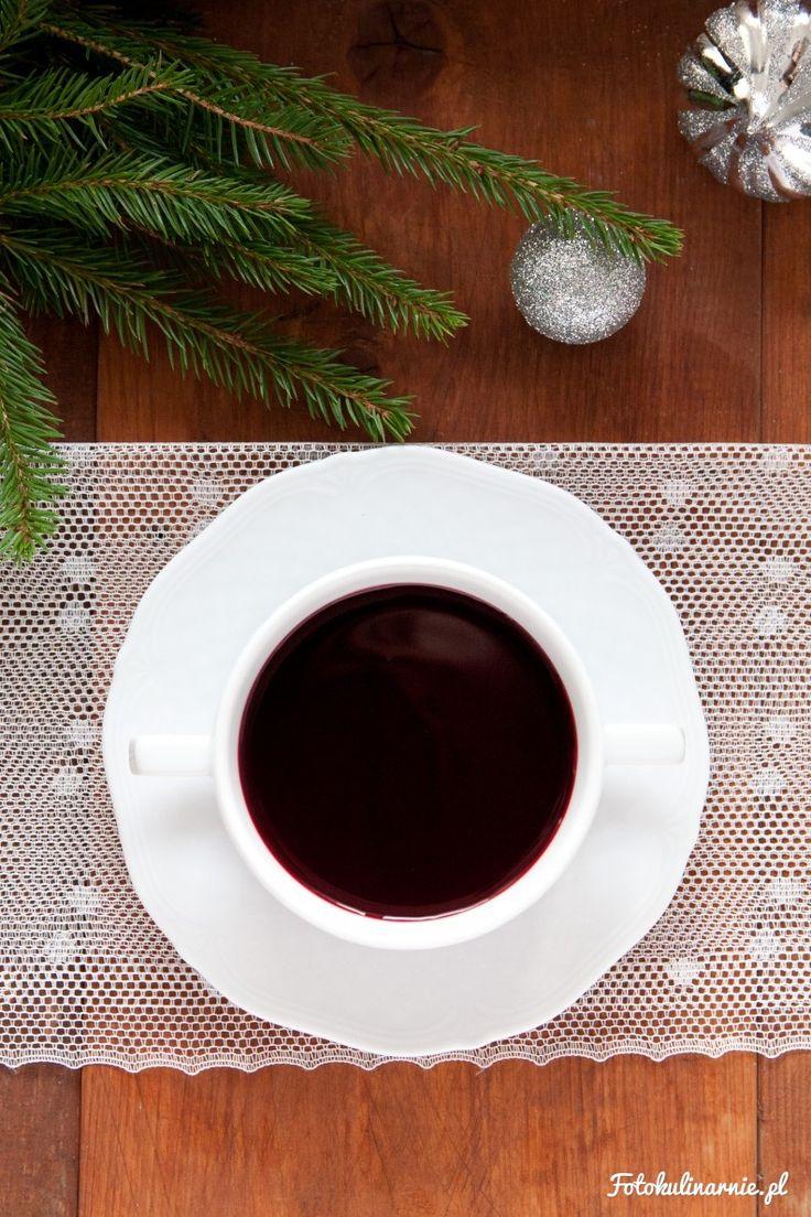 Traditional Polish Christmas Borscht with Beet Kvass.