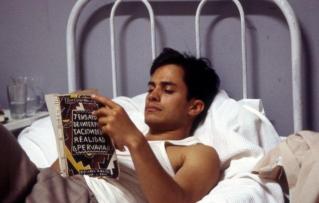 Gael García Bernal in The Motorcycle Diaries (2004)