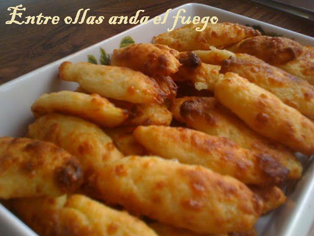 Palitos de queso y patata de Julia Child