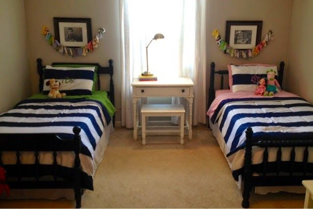 17 best images about shared bedrooms coed on pinterest - Boy and girl shared room ...