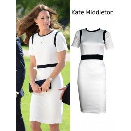 Vestido Blanco Kate Middleton MS881