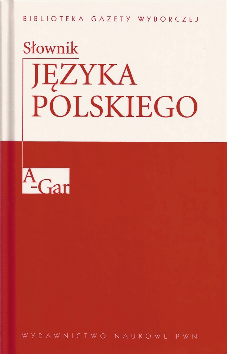"""Polish Language Dictionary"" (PWN) - cover series (2007)"