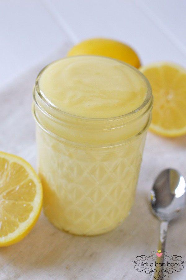Easy Blender Lemon Curd