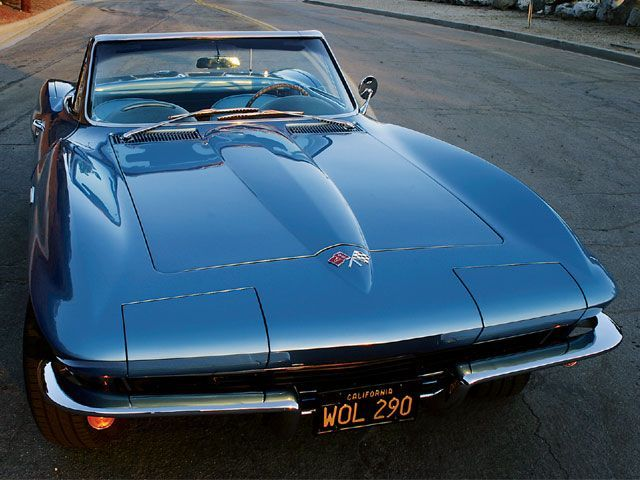 1965 Corvette The Standard Small Block Hood Was Smooth