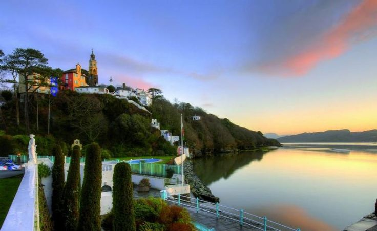 Hotel Portmeirion & Castell Deudraeth - Wales  http://www.historichotelsofeurope.com/property-details.html/hotel-portmeirion-castell-deudraeth