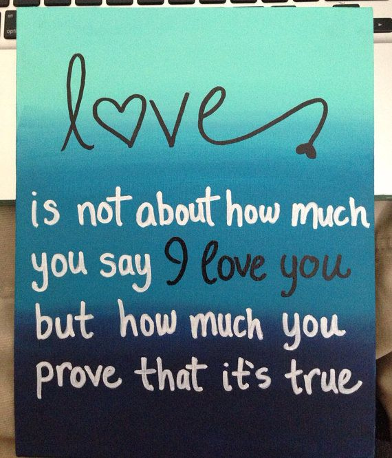 Ombre Quote Canvas by annielayer on Etsy