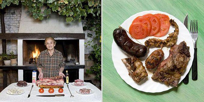 Φωτο-ταξίδι γεύσεων σε όλο τον κόσμο με σεφ... γιαγιάδες!  Αργεντινή, Asado Criollo (ποικιλία κρεατικών - barbecue)