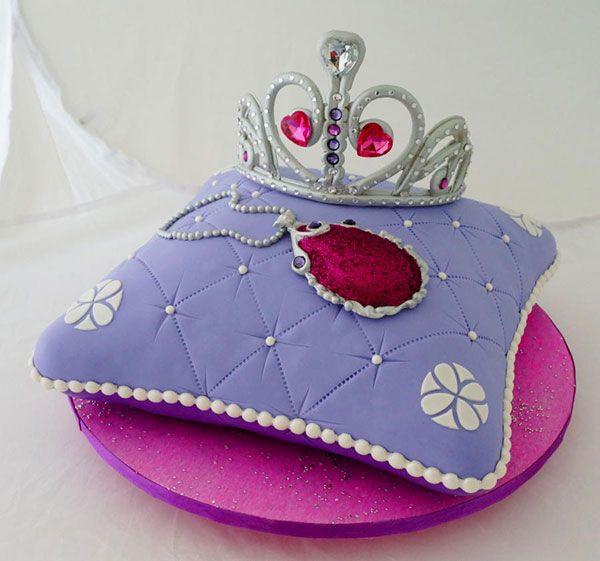 Торт Принцесса София 07