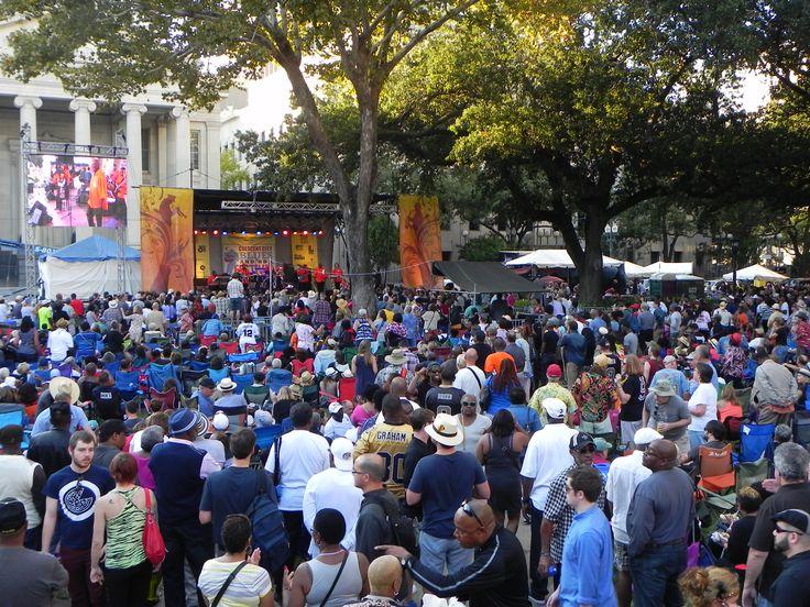 Crescent City Blues & BBQ Festival   #ArtsNewOrleans #ArtTransformsCommunities #NewOrleansFestivals #NOLA #LiveMusic #MusicFestival #FestivalFood #SouthernBBQ #NewOrleansBlues