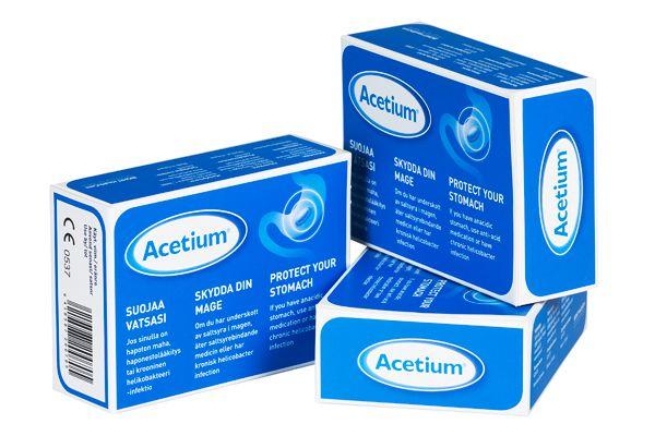 Acetium capsules
