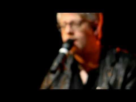 """Matt Maher and Audrey Assad singing """"I Need You"""" at Crosspoint Church in South County, MO - part of the Joy FM Sofa Concert Series in 2012."""