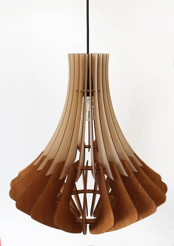 Elegant pendant light, wood lamp, ceiling lighting, Plywood hanging light, Designer light, ceiling light, Lighting Fixture, Chandelier