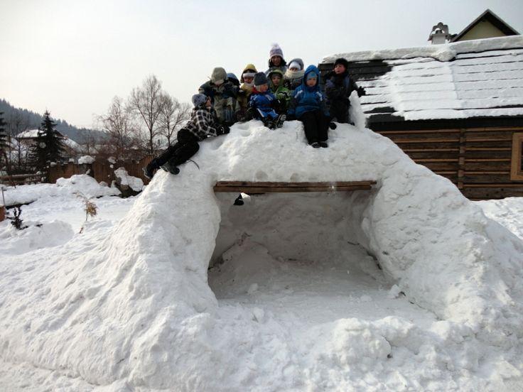 Oščadnica Alpinka v zime