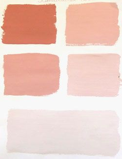 Variations on Scandinavian Pink, Annie Sloan paint