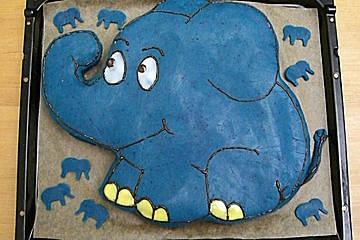 der kleine blaue Elefant! zum Kindergeburtstag - prima Idee