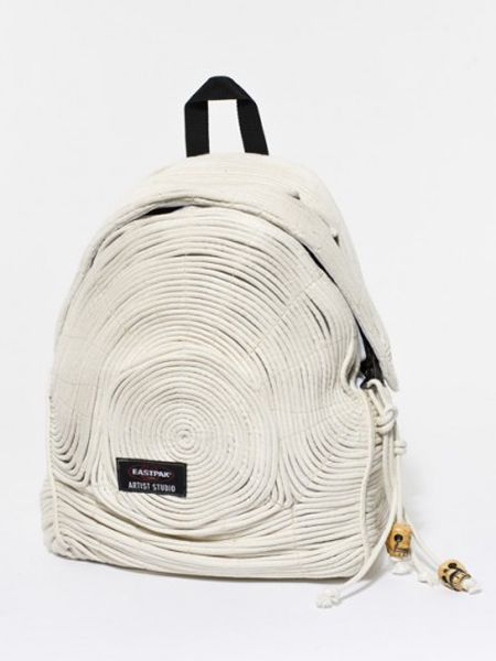 Almudena Gil for Eastpack. From Eastpack's Artist Studio Series, this is by the Spanish designer behind Circo Jewellery.