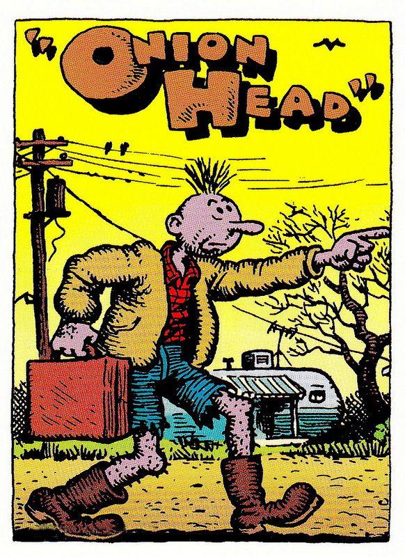 ..._Onion Head by Robert Crumb (underground comics)