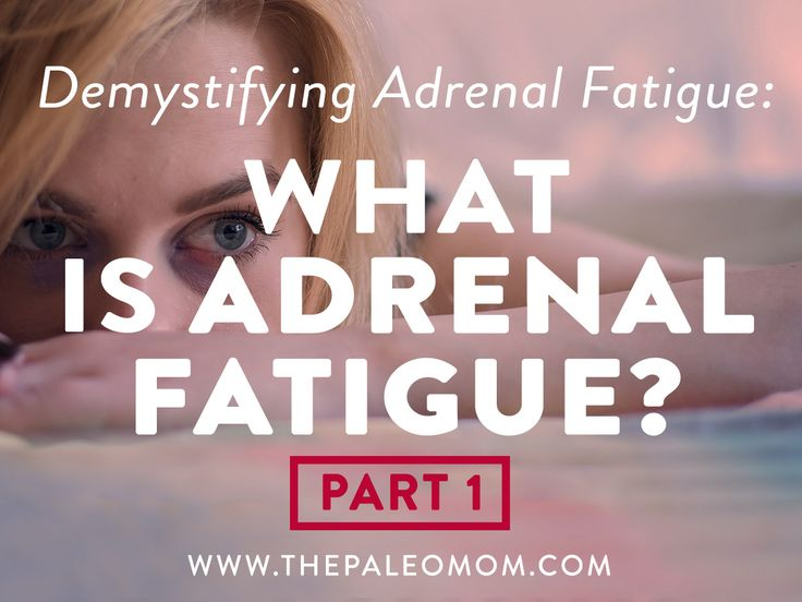 Adrenal fatigue is a consequence of chronic stress, caused by inadequate function of adrenal glands, and characterized by a collection of symptoms, which can include: fatigue, poor sleep or insomnia, mood swings, unexplained weight gain or loss, inflammation, high cardiovascular disease risk factors, insulin resistance, decreased sex drive, joint pain, and frequent infections like colds and flu. …Read More