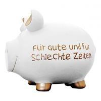 Ein Sparschwein mit besonderen Ausmaßen dessen Inhalt hoffentlich auch für schlechte Zeiten ausreicht....