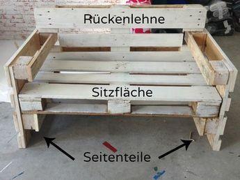 Möbel aus Paletten bauen - nichts leichter als da. Hier findet ihr die Anleitung zu Möbeln aus Europaletten.