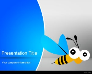 Honeybee PowerPoint Templates is a free honeybee PPT template slide for presentations related to honey but also for food and drinks