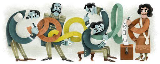 Dia da Reunificação Alemã 2014 #GoogleDoodle