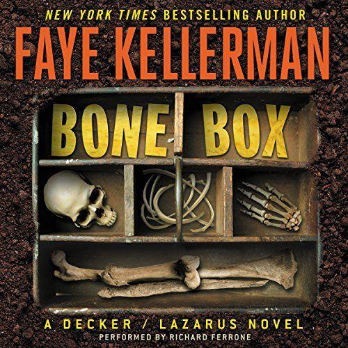 "Another must-listen from my #AudibleApp: ""Bone Box"" by Faye Kellerman, narrated by Richard Ferrone."