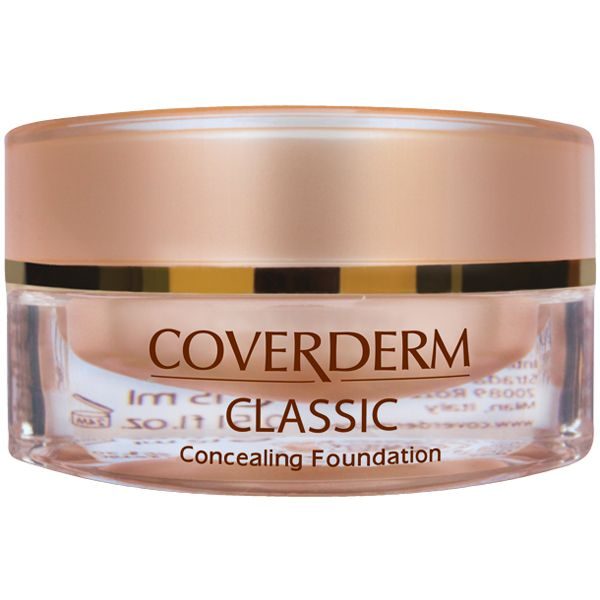 Shop CoverDerm Classic Concealing Foundation at www.bebeautiful.com