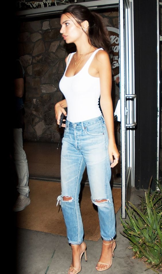 Emily Ratajowsky: Citizens of Humanity Liya High rise Classic Fit Jeans