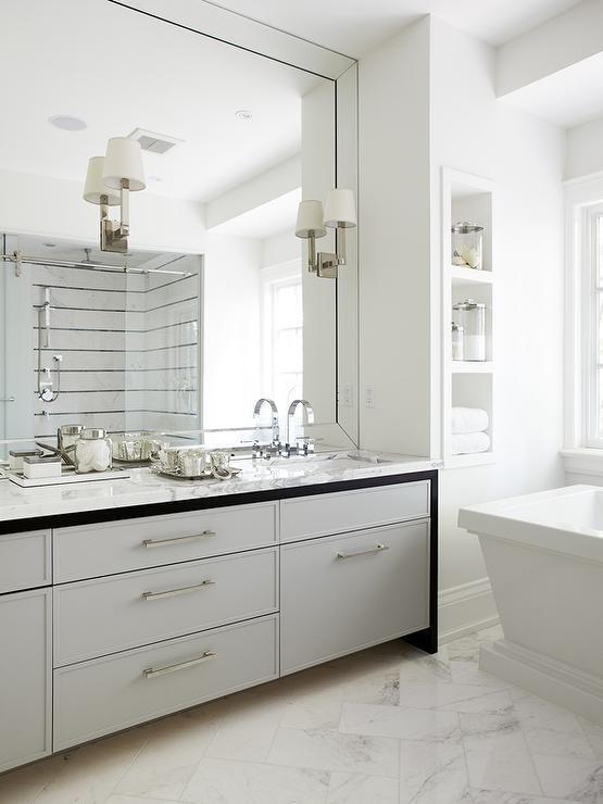 12 Bathroom Mirror Designs For Every Taste Large Bathroom
