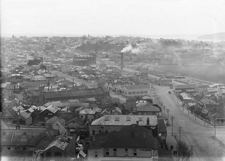 Freemans Bay, one of Aucklands earliest settlements