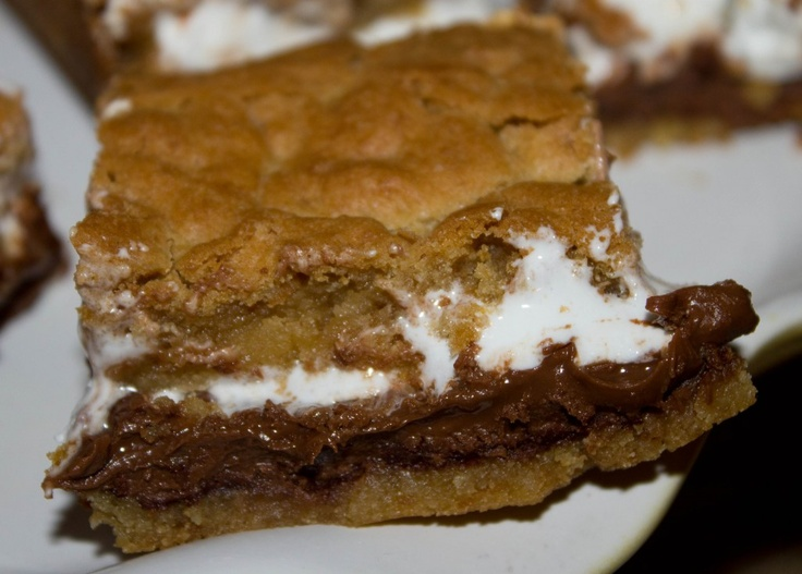 Mores Bars #dessert #yummy | Desserts and dips | Pinterest