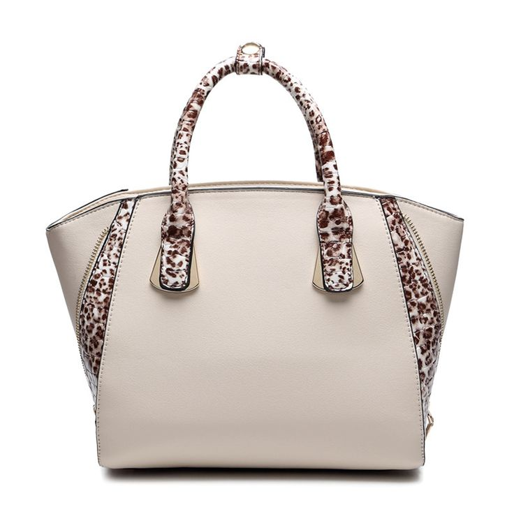 60.37$  Watch here - http://villd.justgood.pw/vig/item.php?t=du7fskw27909 - Women PU Leather Handbags Casual Leopard Shoulder Tote Bags Famous Ladies Trapez
