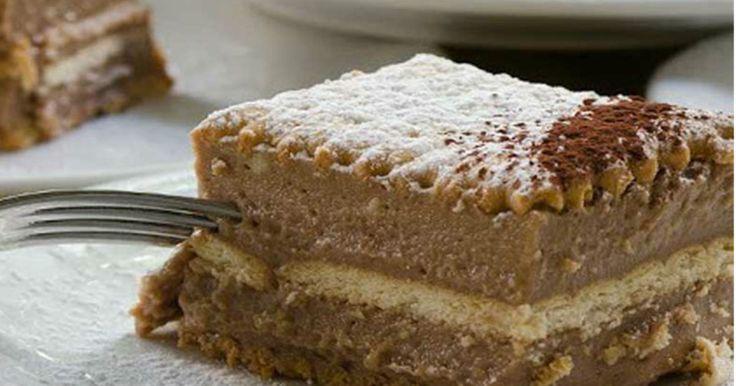 Μια υπέροχη συνταγή για ένα λαχταριστό σοκολατένιο γλύκισμα με μπισκότα και μερέντα. Απολαύστε τη όλες τις ώρες σε όλες τις περιστάσεις. Υλικά συνταγής 1 πακέτο πτι μπερ [225 γρ.] 1 κιλό φρέσκο γάλα, πλήρες + 300 γρ. επιπλέον για τα μπισκότα 4 αυγά 250 γρ. λευκή κρυσταλλική ζάχαρη 100 γρ. αλεύρι για όλες τις χρήσεις …