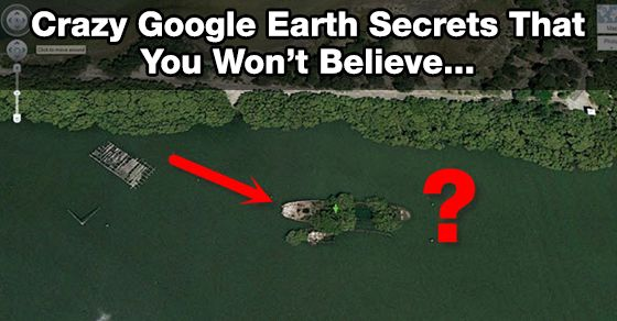 29 Cool And Weird Google Earth Secrets Fascinating Pinterest Entertainment And Earth