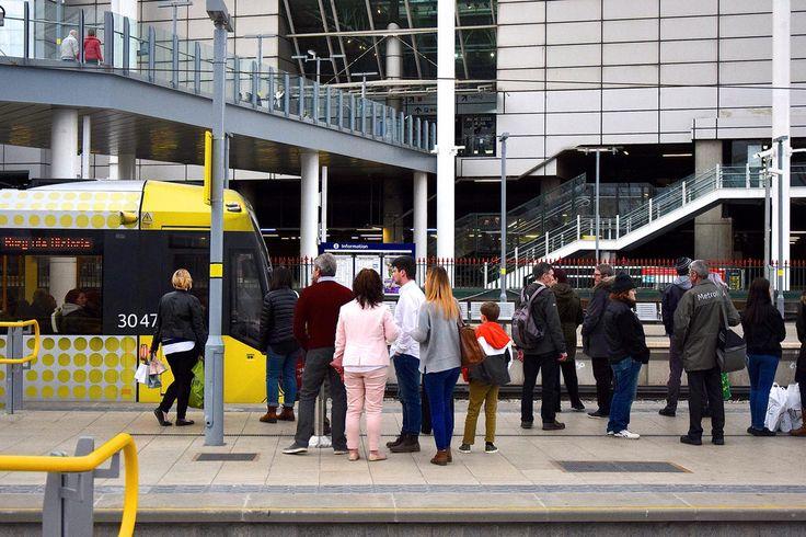 Victoria Station. Manchester Metrolink.