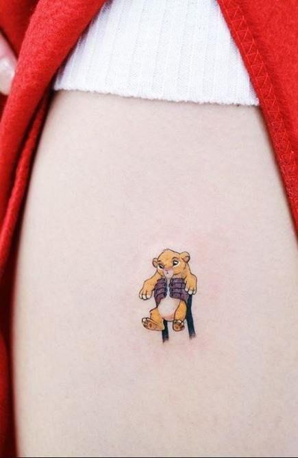 Tattoo Disney Lion King Hakuna Matata Words 34+ Best Ideas