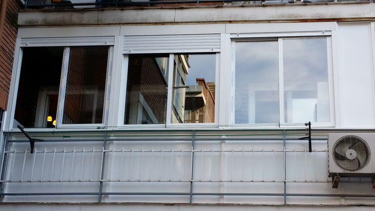 Cerramiento de terrazas en Madrid