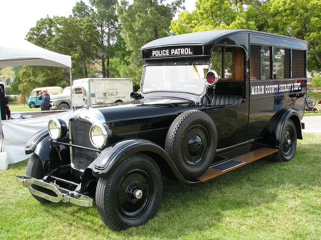 1925 Studebaker Police Paddy Wagon...Brought to you by House of Insurance in #Eugene, #Oregon. Save on #insurance in Eugene