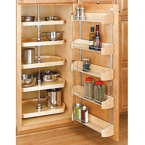 Rev A Shelf D Shape 22 Inch Lazy Susan 5 Shelf Set In Natural With Images Pantry Design Kitchen Design Small Diy Kitchen Storage