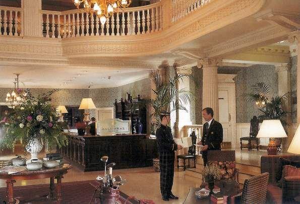 Inside Balmoral Castle Balmoral Castle Interior Picture