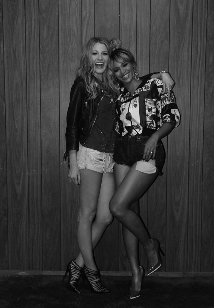 Behind-the-scenes photos from Beyonce and Jay-Z's On the Run tour trailer