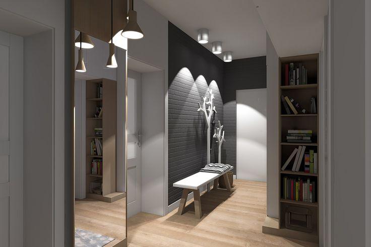 projekt korytarza