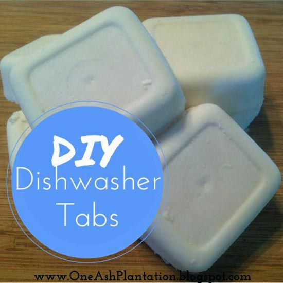 Homemade Cleaning Dishwasher Tablets Recipe Homesteading  - The Homestead Survival .Com