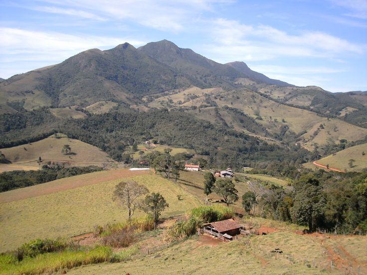 Serra Mitra do Bispo, em Alagoa-mg