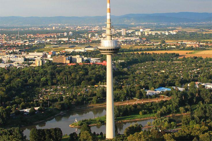 Fernsehturm Mannheim/ Germany Fernmeldeturm