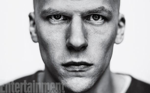 Get your first glimpse of Jesse Eisenberg as one of comics' greatest bad guys: Lex Luthor.