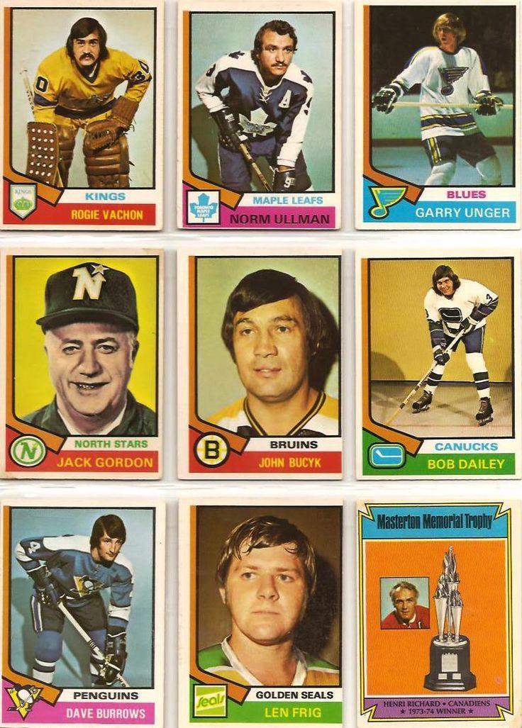 235-243 Rogie Vachon, Norm Ullman, Garry Unger, Jack Gordon, Johnny Bucyk, Bob…