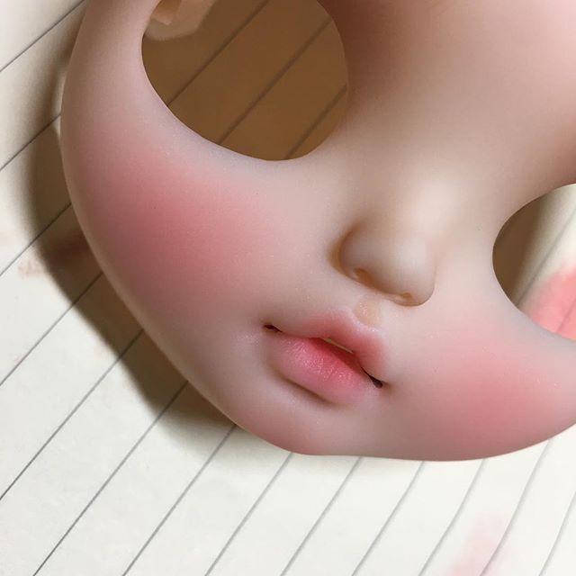 custom blythe by:Donna ~~~~ #blythecustom #customblythe #blythe #blythedoll #art